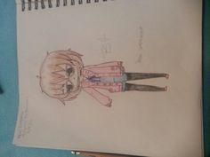 My Drawing of Mirai Kuriama By:Brookie_Chan Drawings, My Drawings, Art, Anime, Humanoid Sketch, Anime Drawings