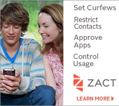 ZACT cell phones with restrictions for pre-teens and teens - need to look into this more.