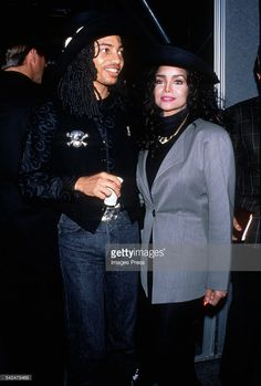 Latoya Jackson and Terence Trent D'Arby circa the 1980s.