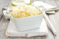 Share for 10% off your purchase!  Garlicky Kraut