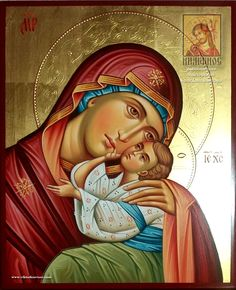 Religious Images, Religious Icons, Religious Art, Christian Drawings, Christian Art, Monastery Icons, Paint Icon, Religion, Blessed Mother Mary
