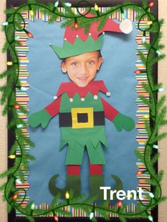 Hi Arielle back with a fun little activity for the whole #0: bb72d6ca8adafc1d680fde elf yourself kindergarten christmas