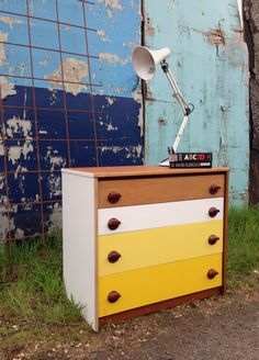 Stag Upcycled Teak Mid Century Drawers / Storage by baddogstudio, £250.00