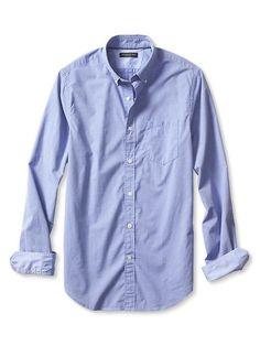 Tailored Slim-Fit Custom 078 Wash Shirt