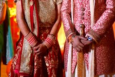 Indian Bridal Couple - Red