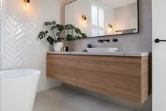 This page displays photographs of a bathroom renovation in a beachside home in Adelaide, South Australia Downstairs Bathroom, Bathroom Renos, Laundry In Bathroom, Master Bathroom, Bathroom Ideas, Bathroom Remodeling, Remodeling Ideas, Beautiful Bathrooms, Modern Bathroom
