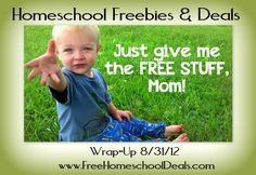 #Homeschool Freebies & Deals Wrap Up 8/31/12 *Goodies and free stuff for your family!!*