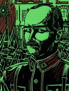 May 1916 - James Connolly, Irish Revolutionary, executed