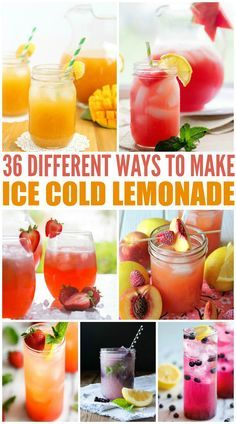 The skies are looking pretty gray from where I'm sitting right now, but sunny days and warmer temps will be here soon enough. While we're sitting here in anticipation, why not make up a pitcher of lemonade?! Here are some bright, colorful, delightful recipes for homemade lemonade : Blueberry Lemonade (Damn Delicious) Ginger Peach Lemonade (Lemons for …