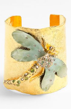 Alexis Bittar 'Allegory' Dragonfly Wide Cuff available at #Nordstrom