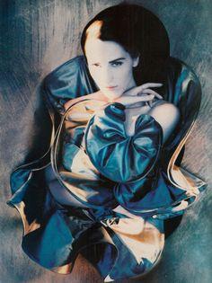 wickedhalo:    Vogue Italia, September 1988 by Javier Vallhonrat