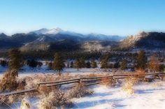 Beautiful snowy day in Arvada