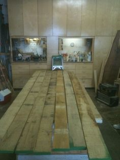 Custom order of solid wood floating shelves Carpentry Projects, Wood Projects, Wood Shelves, Shelving, Custom Floating Shelves, Hardwood Floors, Solid Wood, Home Improvement, Woodworking Ideas