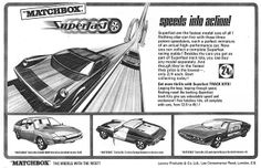 Matchbox Cars Ad 2 1969 by combomphotos, via Flickr