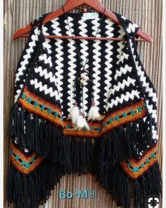 """Asya Koşal on Instagram: """"❤️"""" Gilet Crochet, Crochet Cardigan, Knit Crochet, Crochet Designs, Crochet Patterns, Crochet Capas, Crochet Shawls And Wraps, Crochet Woman, Beautiful Crochet"""