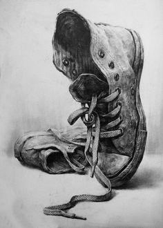 detaylı ayakkabı etudu