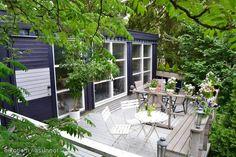 Blue & white terrace / Sinivalkoinen terassi