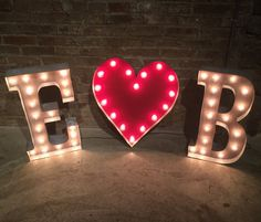 Letter Sign Marquee Carnival Letter Sign Wall Light  Your Choice