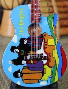 Miniature Replica #Guitar - Retro #Beatles   Fair Trade Gift Store   Siiren