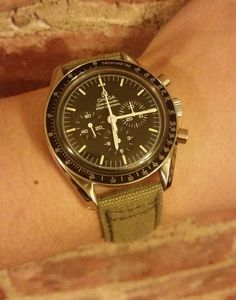 Vintage OMEGA Speedmaster Pro Moonwatch Calibre 861 In Stainless Steel - http://omegaforums.net
