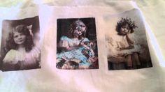 DIY - Trasferimento di immagine su stoffa - Transfer of cotton cloth
