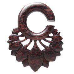 Wooden Plugs, Dark Lotus Hangers WEX36