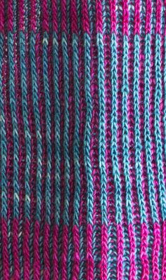 Free Knitting Pattern for a Byberry Scarf using Manos del Uruguay yarn Fino. Skill Level: Intermediate Brioche scarf free knitting pattern that incorporates a variety of beautiful colors. Free Pattern More Patterns Like This! Knitting Kits, Knitting Stitches, Knitting Patterns Free, Free Knitting, Knitting Projects, Crochet Patterns, Knitting Scarves, Knitting Ideas, Purl Stitch