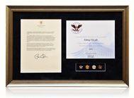 iwf장길자회장님 라이프타임상 ☞ 버락 오바마 (미국대통령)국제위러브유운동본부에 감사편지