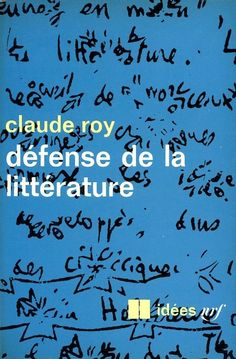 Idées no. 161 (literature), published by Gallimard, Paris, 1968. Photo-graphisme: Henry Cohen