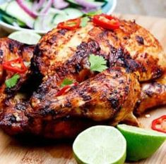 Indian-Spiced Roast Chicken _ love Indian spices and this would be great to try. Indian Food Recipes, Asian Recipes, Healthy Recipes, Drink Recipes, Delicious Recipes, Indian Chicken Recipes, Jar Recipes, Indian Foods, Freezer Recipes