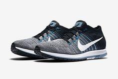 new product 5c76a 0d3eb Nike Zoom Flyknit Streak (Wolf Grey Blue) - Sneaker Freaker