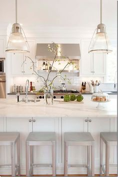 case interni - white kitchen, cucina bianca