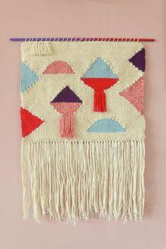 Handgewebter+Wandteppich+Tapestry+Wallhanging+von+tissé+auf+DaWanda.com