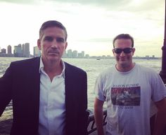 Cruise with #jimcaviezel during shooting of #personofinterest
