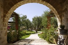 The entrance to the paradise. Modern Luxury, Oasis, Entrance, Most Beautiful, Paradise, Sidewalk, Villa, Places, Holiday
