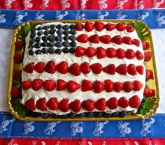 Flag (Lemon Pound) Cake