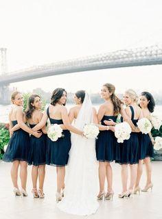 2014 navy blue backless beach wedding bridesmaid dresses, navy blue bridesmaid gowns