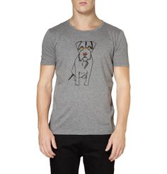 Burberry Prorsum Dog-Print Cotton-Jersey T-Shirt | MR PORTER