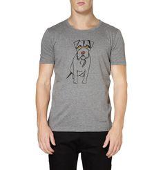 Burberry ProrsumDog-Print Cotton-Jersey T-Shirt|MR PORTER