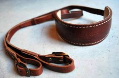 Nothing high-tech about this camera strap but it is gorgeous and you can never have enough leather products in your life...