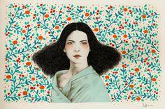 Eufemia Art Print by Sofia Bonati | Society6