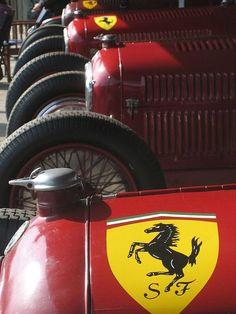 Scuderia Ferrari: genius of Enzo & Jano, the brilliance of Tazio... #alfaromeogirl