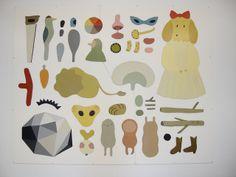 Public commission hagenskolan, via Flickr.   Camilla Engman