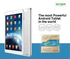 166e - (ONDA) V989 9.7 inch Retina Screen Android 4.4 A80T Octa-core 32G Tablet PC w/ Bluetooth 4.0 Mircast HDMI ETC-325015
