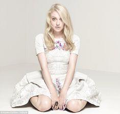 Dakota Fanning is All Grown Up for UK InStyle Magazine's December 2012
