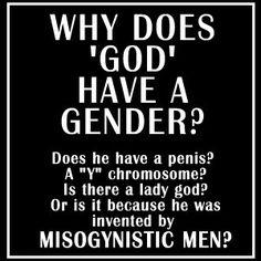 God and gender