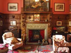 The Smoking Room - Lanhydrock House - Bodmin - Cornwall - England