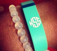 Items similar to Fitbit Flex Monogram Decals - Multiple Initials/Monograms & Colors on Etsy Circle Monogram, Monogram Decal, Monogram Initials, Christmas Wishlist 2017, Cricut Creations, Fitbit Flex, Workout Gear, Watch Bands, Girly Things