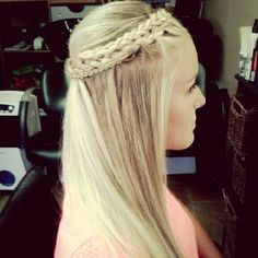 braided and beautiful. although i think i would like it even better with soft curls/waves.