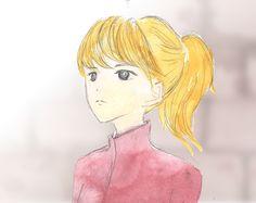 「とある絵描きのバラッド」部屋を見上げるアイリーン